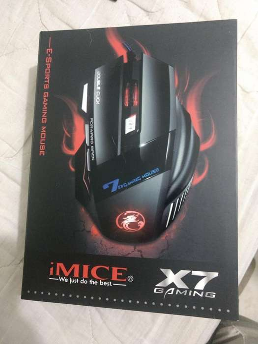 Mouse Gamer Comer Nuevo