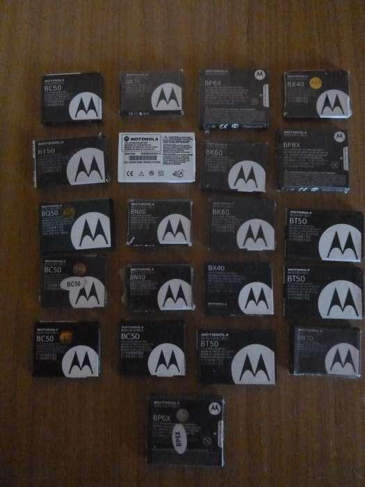 Vendo Baterías Motorola Nuevas.