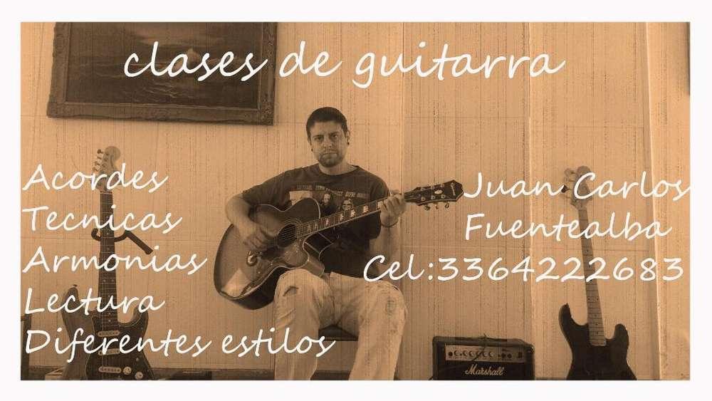 Clases de Guitarra 500 Al Mes