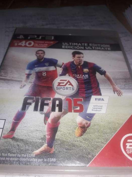 Vendo Fifa15 Ps3