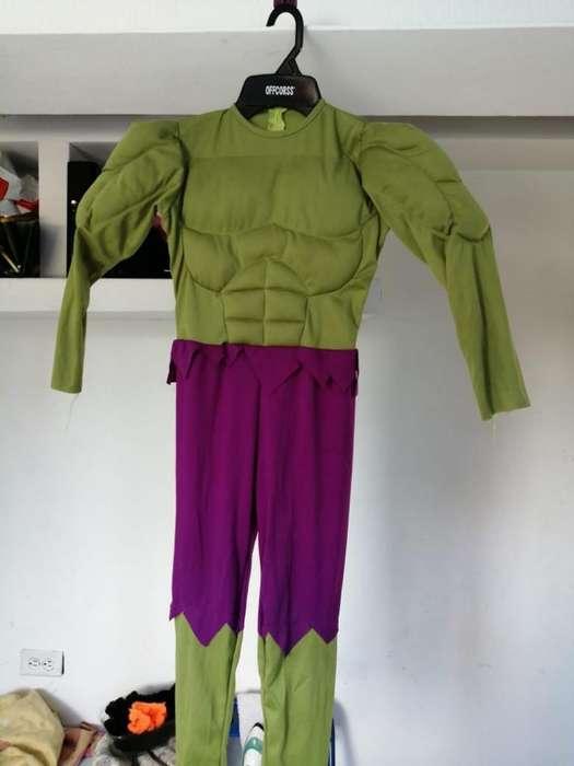 Disfraz Hulk Buen Estado