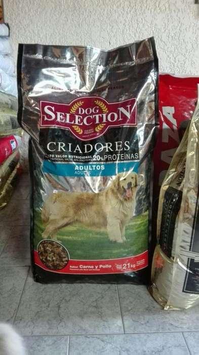 Dog Selection Criadores adulto 21 Kg