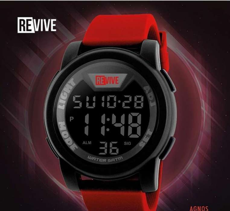 Reloj Deportivo Revive