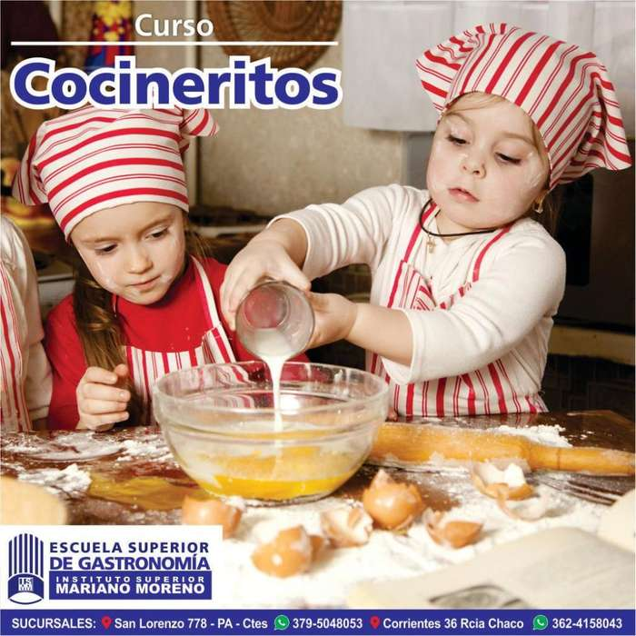 CURSO DE COCINA PARA NIÑOS!
