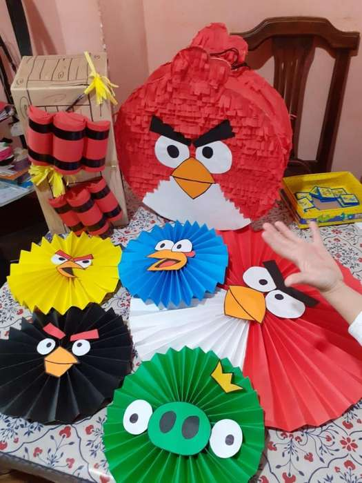 Decoracion Y Piñata Angrybirds