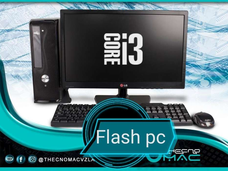 Oferta Pc Core I3 para Webcam O Jugar