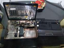 CARCASAS TOSHIBA SATELLITE L645D S4106