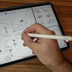 Apple Pencil 2da Gen Bluetooth Carga Magnética para iPad Pro