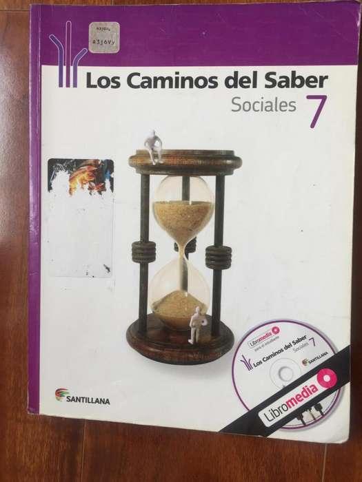 LOS CAMINOS DEL SABER 7 SANTILLANA