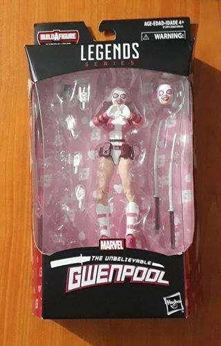 Marvel legends Gwenpool Gi joe motu heman dc universe star wars