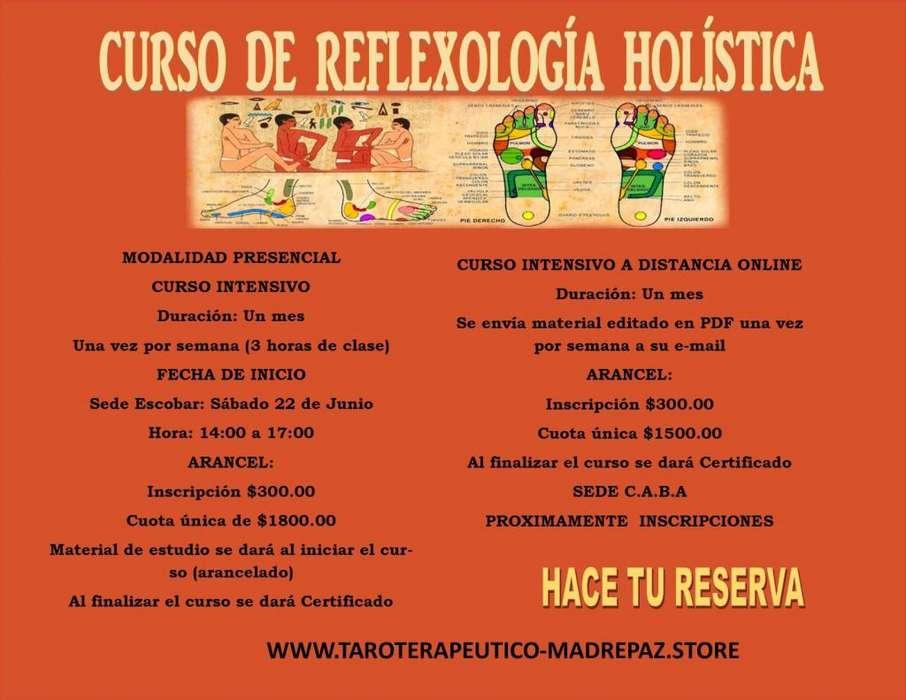 Curso de Reflexología Holística