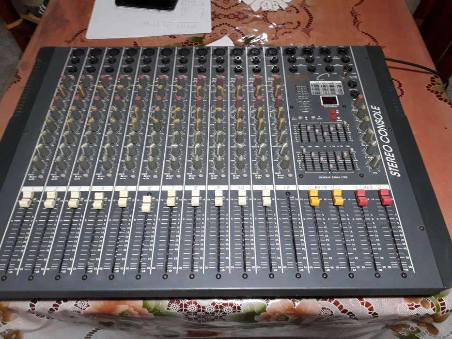 Consola de Sonido Gbr Mix 12