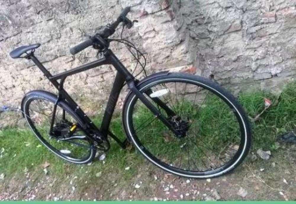 Bicicleta Bmc con Correa de Carbono