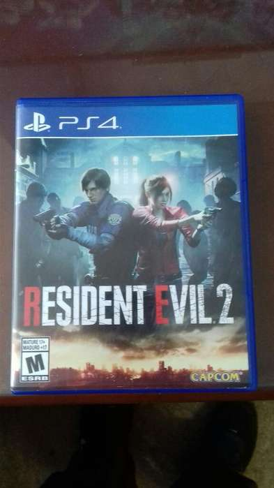 Vendo Juego Resident Evil 2