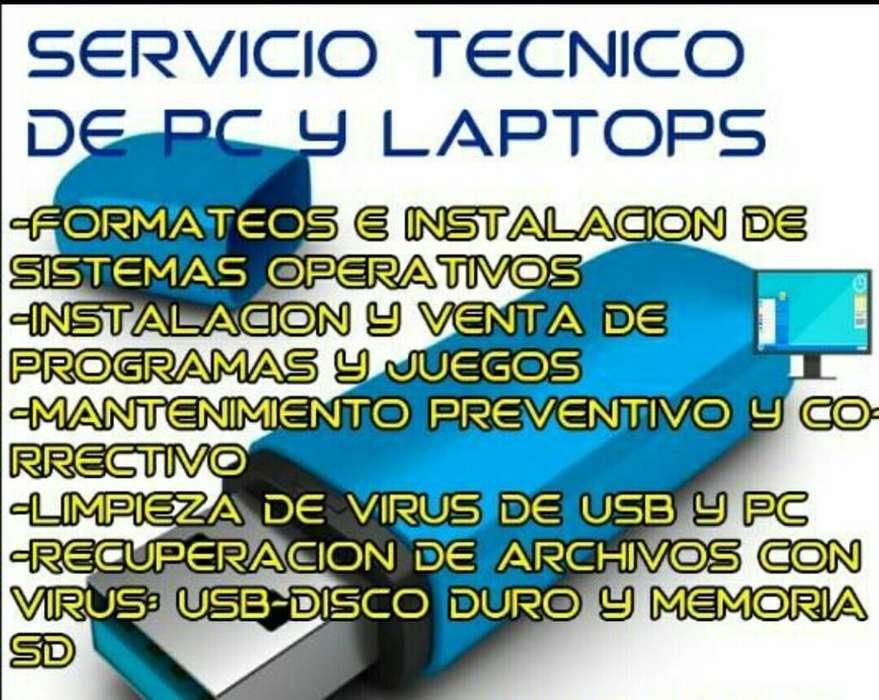 Reparacion Servicio de Computadoras O Pc