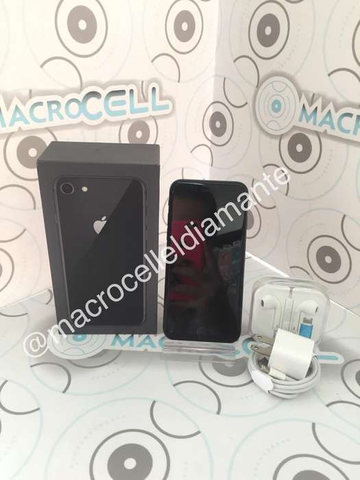 Vencambio iPhone 8 64gb,color Negro