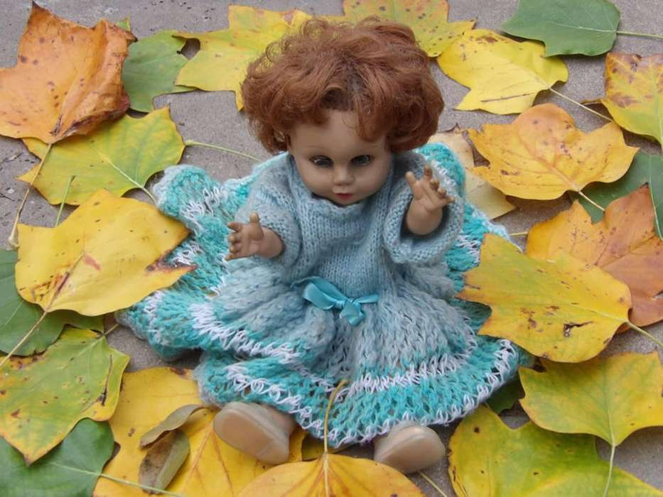 muñeca antigua la pielangeli 9500.-