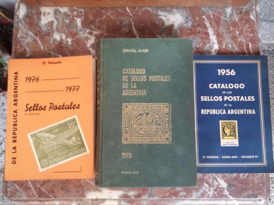 Catalogos de Sellos Postales Argentinos.