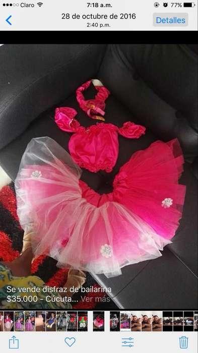 Vendo Disfraz de Bailarina