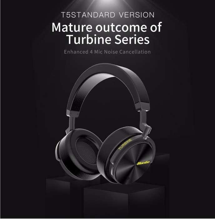 Audífonos Bluedio T5 Turbine 25hr Música