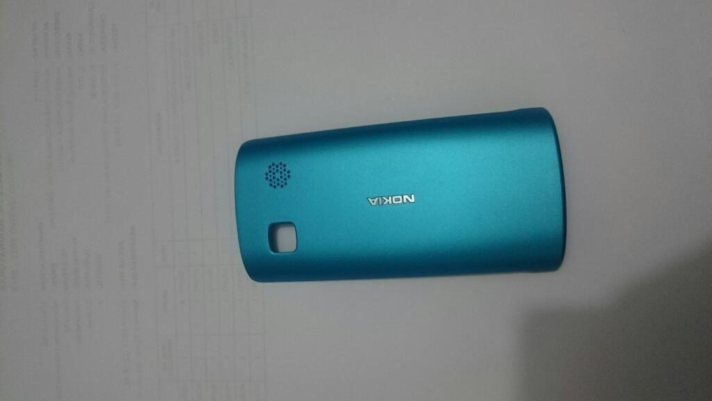 Tapa Nokia 500 turquesa
