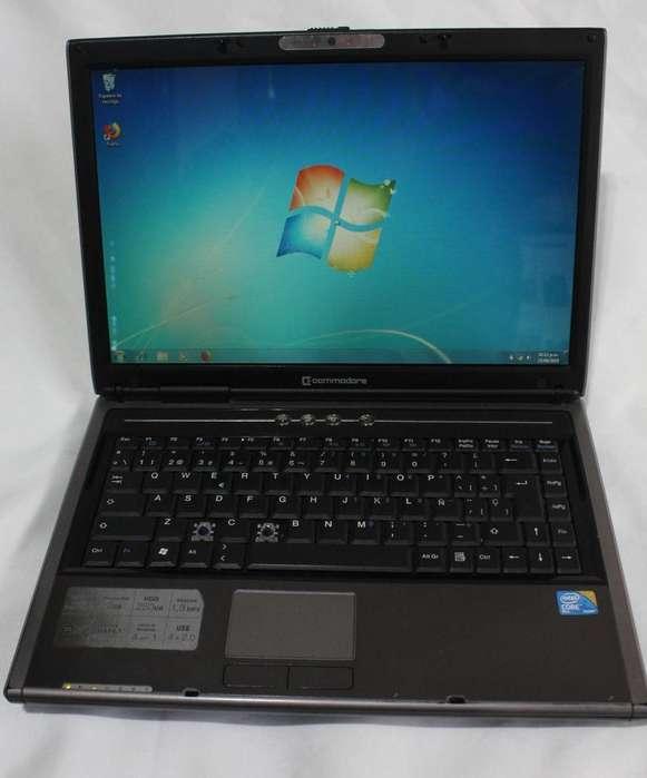 Notebook commodore Core2duo, 3gb ram, 250gb disco. buen estado!