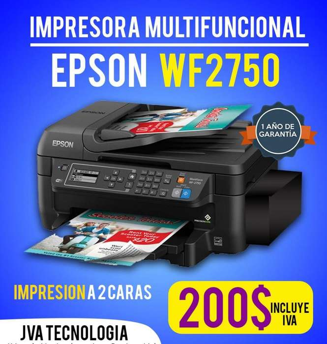 IMPRESORA EPSON WF 2750 DUPLEX