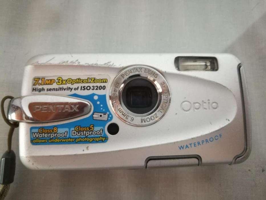 Pentax Optio W30 7.1MP Camara <strong>digital</strong> Waterproof