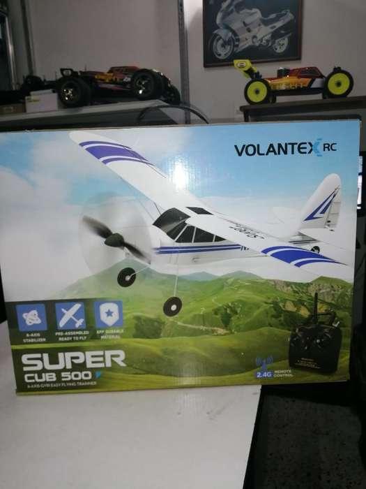 Avión Rc. Super Cub 500. Aeromodelismo.
