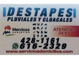 Destapes Pluviales y Cloacales en Mendoza