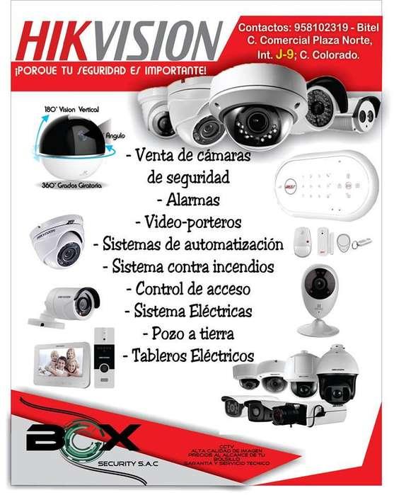 cámaras de seguridad técnicos calificado.