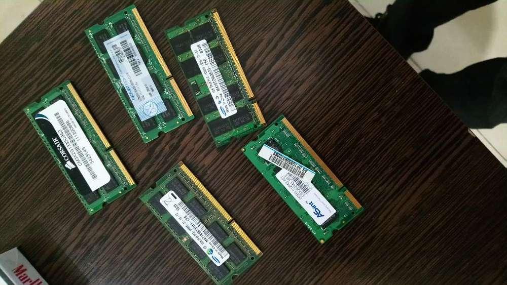 Memorias Ram para Notebook