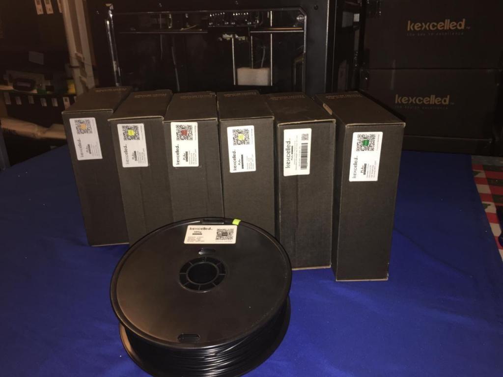 Filamentos para impresora 3D PERU (Kexcelled), Producto Premium para tus impresiones 3D