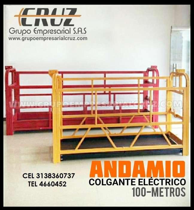 ANDAMIO COLGANTE ELECTRICO