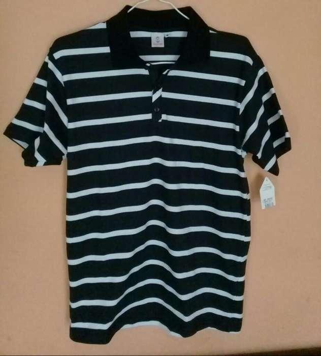 Camiseta Preciosa Algodon Hombre M Nueva
