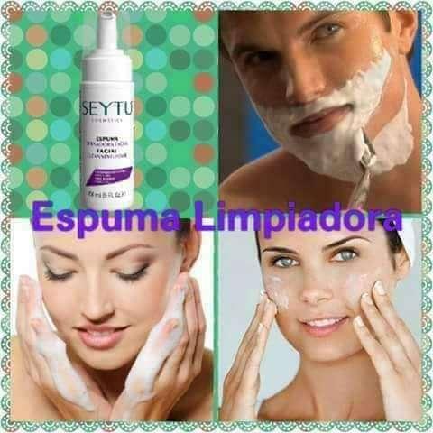 Espuma facial limpiadora dile adis a las manchas