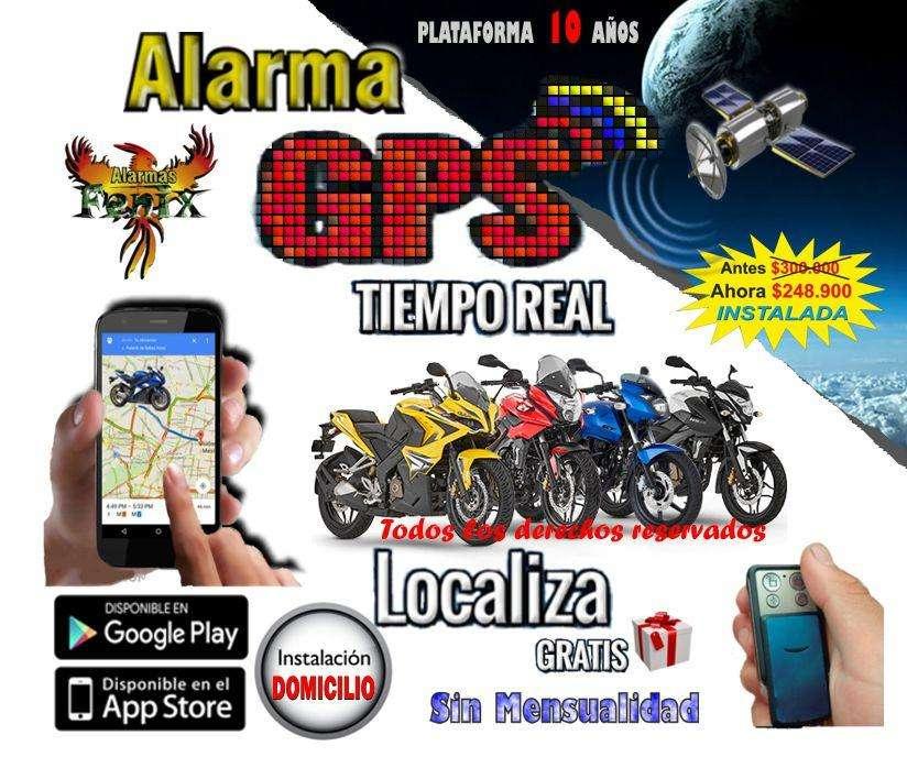Alarma GPS Con Instalacion Apaga su MOTO Instalación Plataforma 10 Años Sirena Control y APP Bogota