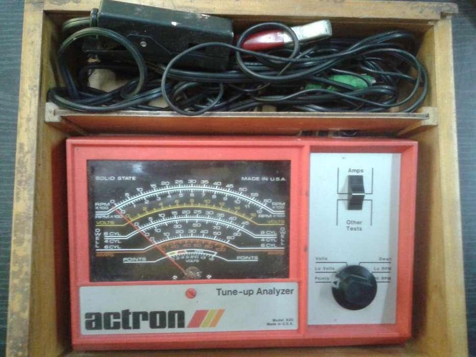Analizador de Diagnòstico Elèctrico Automotriz Vintage USA
