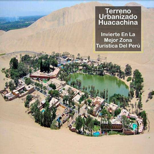 Terreno De 800 m2 en Huacachina - Ica.