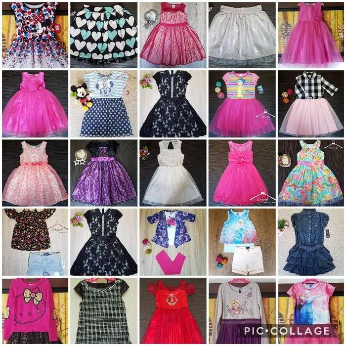 Vestidos Para Niña Talla 8 7 Ropa Americana Nuevos y de 2da En Excelente Estado