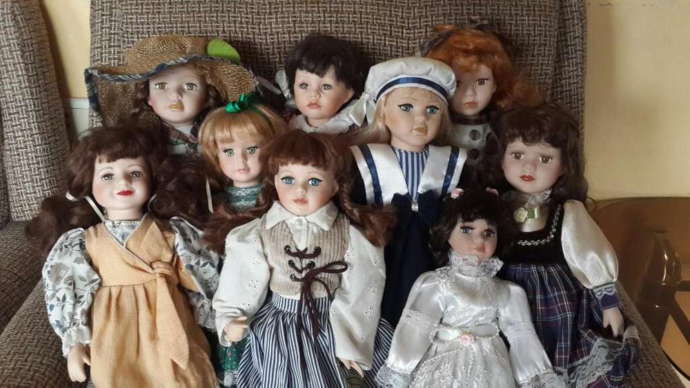 Muñecas de Porcelana para Colección