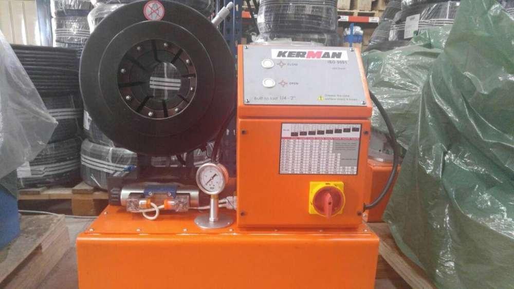 Maquina Prensadora De Manguera Kerman 2