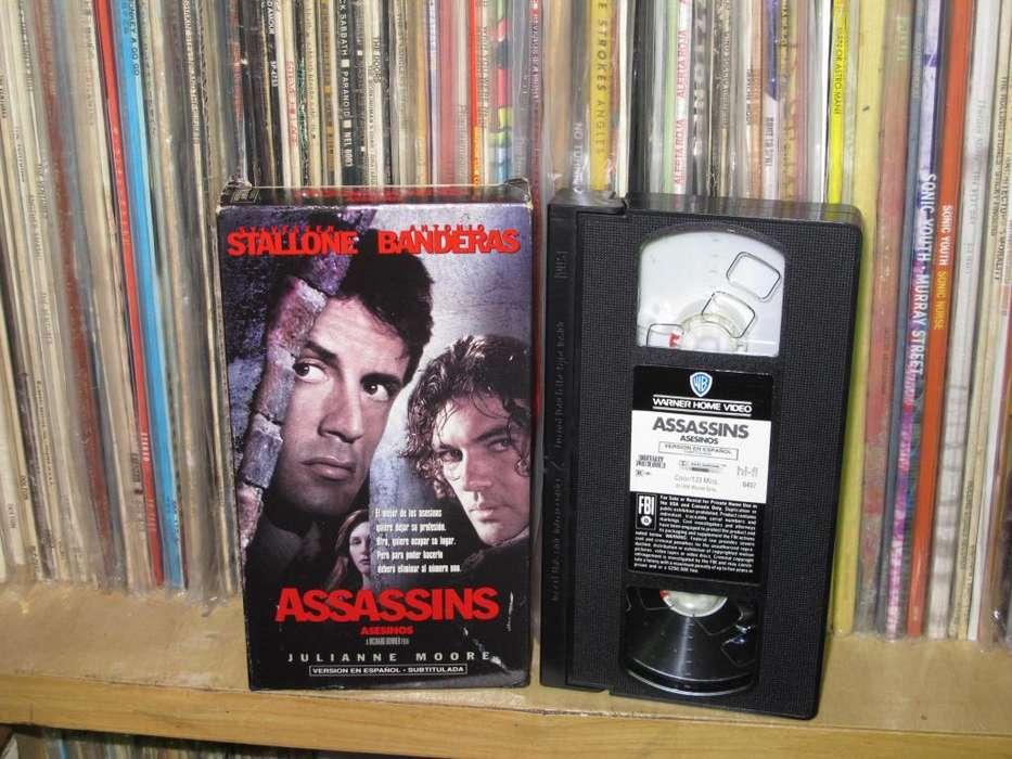 Assassins - Asesinos VHS USA 1995