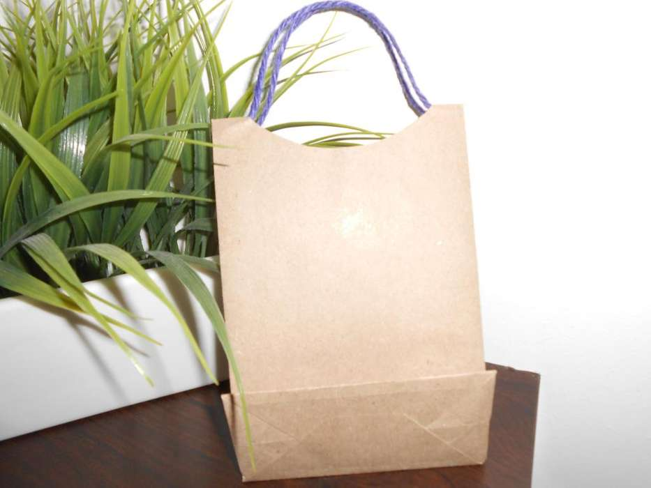 61da80b06 Bolsas papel kraft natural, para tiendas, boutiques, fiestas, cotillones