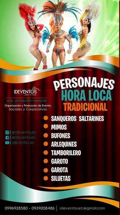 Eventos , Show y Espectaculos Hora Loca Gye - Ecuador