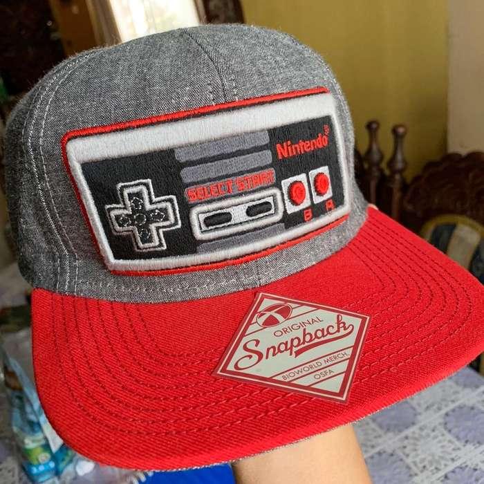 Gorra Nintendo Retro 100% Original