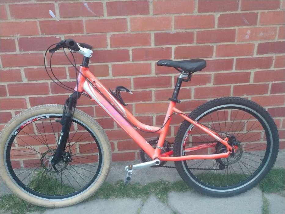 Bicicleta Rin 26 Aluminio Vendo