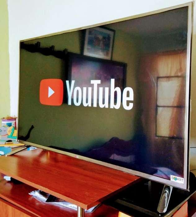 Tv Led Smartv 3d de 48 Lg con Su Control