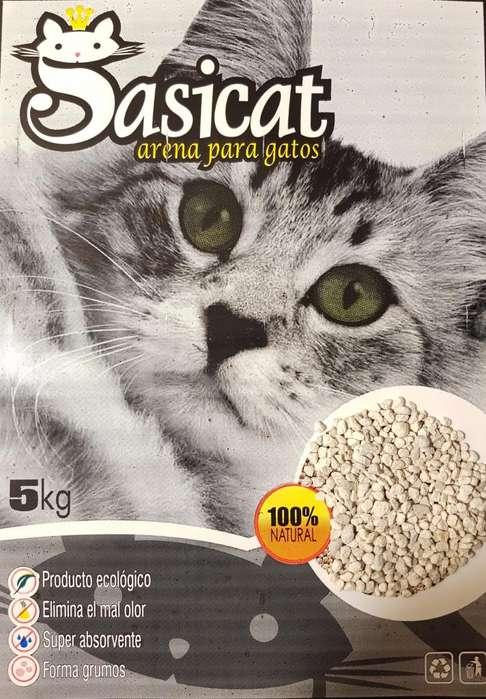 Arena Para Gatos Sasicat (5kg)