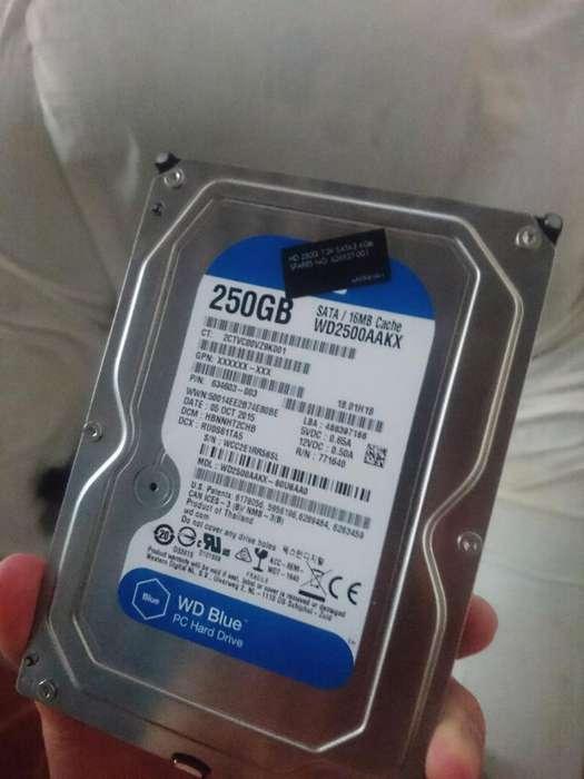 Disco Duro 250gb 10 de 10